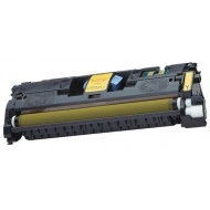 HP C9702A Yellow Toner Cartridge (121A). Compatible.