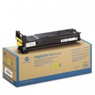 Genuine Original Konica Minolta A06V253 Cyan Toner Cartridge.