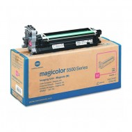 Genuine Original Konica Minolta A06V353 Magenta Toner Cartridge.