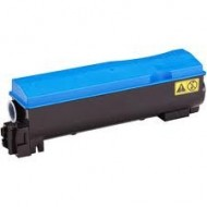 Kyocera TK520 Cyan Toner Cartridge. Compatible.