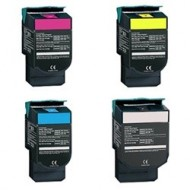 Lexmark C540H1 High Yield Toner Cartridge Multi Pack Set. Compatible.