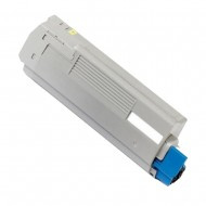 Oki 43324421 Yellow Toner Cartridge. Compatible.